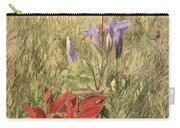 Fringed Gentians Carry-all Pouch