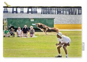 Frisbee Dog Carry-all Pouch by Brian Wallace