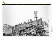 Steam Driven Locomotive Carry-all Pouch