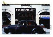 Frisor And Black Car  Copenhagen Denmark Carry-all Pouch