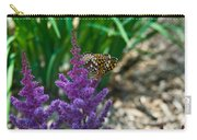 Fritllary Butterfly On Astilbe Carry-all Pouch