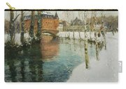 Frits Thaulow    A Chateau In Normandy Carry-all Pouch