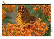 Frittalary Milkweed And Life Carry-all Pouch