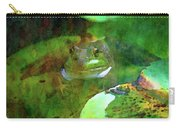 Frog And Lily Pad 3076 Idp_2 Carry-all Pouch