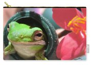 Frog At Selby Carry-all Pouch