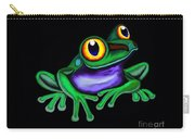 Frog Eyes  Carry-all Pouch