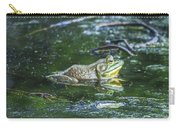 Frog In A Pond Carry-all Pouch