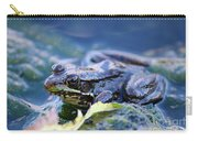Frog In Water Carry-all Pouch