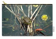 Frog On A Stick Carry-all Pouch