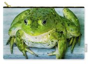 Frog Portrait Carry-all Pouch