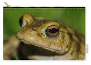 Frog Posing Carry-all Pouch