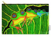 Froggie Trio Carry-all Pouch