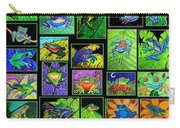 Frogs Poster Carry-all Pouch