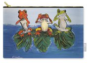 Frogs Without Sense Carry-all Pouch