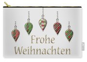 Frohe Weihnachten German Merry Christmas Carry-all Pouch