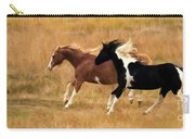 Frolicking Horses Carry-all Pouch