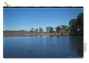 From The Bank Of The Lake In Eunice, Louisiana Carry-all Pouch