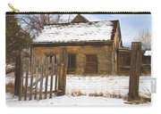 Pioneer Home Painterly Impression Carry-all Pouch