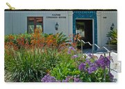 Flowers In Front Of Napier Common Room At Pilgrim Place In Claremont-california Carry-all Pouch