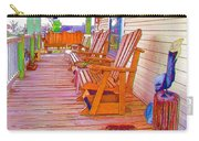 Front Porch On An Old Country House  1 Carry-all Pouch