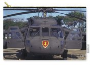 Front View Of An Army Hh-60 Pave Hawk Carry-all Pouch by Michael Wood