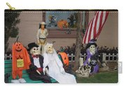 Front Yard Halloween Display Tombstone Arizona 2004 Carry-all Pouch