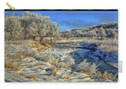Frost Along The Creek Carry-all Pouch