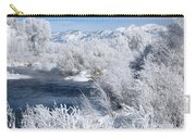 Frost Along The River Carry-all Pouch