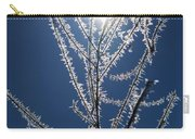 Frost Ice Crystals Carry-all Pouch