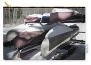 Frosted Canoes Carry-all Pouch
