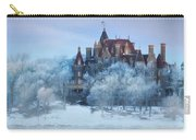 Frosted Castle Carry-all Pouch by Lori Deiter
