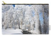 Frosted Cottonwoods Carry-all Pouch