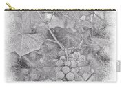 Frosted Grapes Vignette Carry-all Pouch