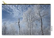Frosted Hilltop Quakies Carry-all Pouch