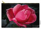 Frosted Rose Carry-all Pouch