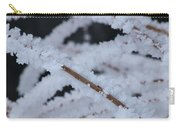 Frosted Twigs Carry-all Pouch
