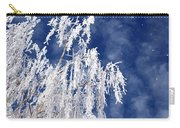 Frosted Weeping Willow Carry-all Pouch