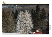 Frosty Birch Carry-all Pouch