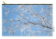 Frosty Branch Carry-all Pouch
