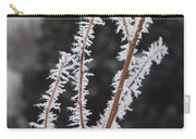 Frosty Branches Carry-all Pouch by Carol Groenen
