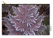 Frosty Fern Christmas Carry-all Pouch