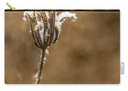 Frosty Flower Remains Carry-all Pouch