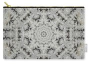 Frosty Lace Doily Carry-all Pouch