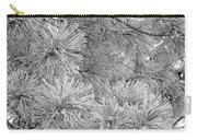 Frosty Pine Tree Carry-all Pouch