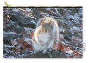Frosty Squirrel Carry-all Pouch