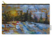 Frosty The Snow Man Carry-all Pouch