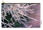 Frosty Twigs Carry-all Pouch