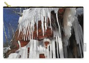 Frozen Apostle Islands National Lakeshore Portrait Carry-all Pouch