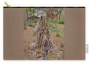 Frozen Banana Tree In Colored Pencil Carry-all Pouch