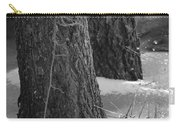 Frozen Black And White Carry-all Pouch